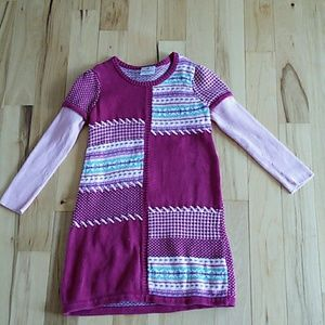 Toddler Girl Dress Size 7 Hanna Andersson, Pinks